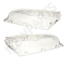 For BMW E46 325i 330i Pair Set of Left & Right ZKW Headlight Lens Plastic URO