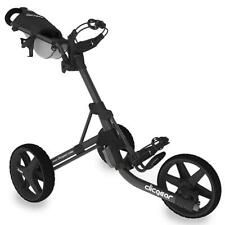 Clicgear 3.5+ Golf Trolley (Charcoal Black) Includes