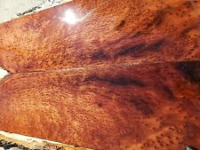 Redwood burl guitar wood or bass figured wood for luthier supply