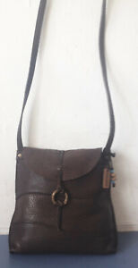 HIDESIGN (RADLEY GROUP) SOFT BROWN LEATHER CROSSBODY BAG.VERY GOOD CONDITION