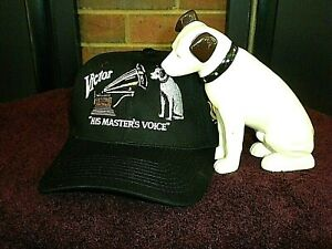 """RCA Victor Nipper """"HIS MASTERS VOICE"""" Quality Embroidered Hat NEW  Guaranteed"""