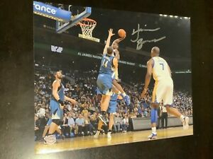 Harrison Barnes Golden state warriors autographed 8x10 clearance