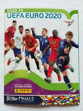 ALBUM PANINI ROAD TO EURO 2020 VIDE VIERGE NEUF MINT + 6 STICKERS INSIDE