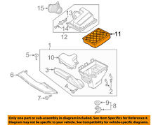 FORD OEM Engine-Air Filter DS7Z9601D