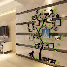 Hágalo usted mismo Familia De Pared Árbol Foto Marco Removible imágenes calcomanías Decorativas Habitación Colgante