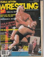 Double Action Wrestling Magazine Collector's Edition Premier Issue October 1986