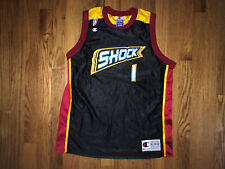 Detroit Shock Champion Jersey WNBA Youth XL Preowned