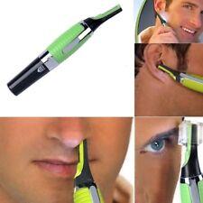 Men's Nose Ear Face Neck Eyebrow Hair Mustache Beard Trimmer Shaver Clipper Hot