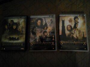 DVD TRILOGIE LE SEIGNEUR DES ANNEAUX (FANTASY TOLKIEN FANTASTIQUE)