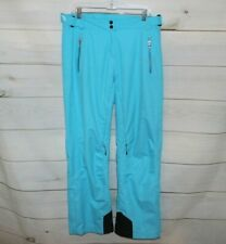 Women's 10 Obermeyer Blue Waterproof Ski Snowboard Insulates Snow Pants