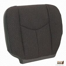 2004 GMC Sierra 2500 2500HD Front Driver Side Bottom Dark Gray Cloth Seat Cover