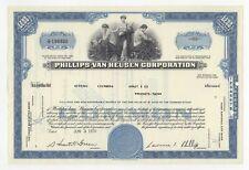 Phillips-Van Heusen Corporation Stock Certificate