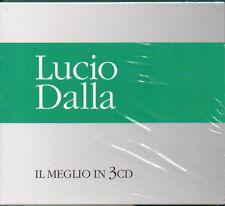 LUCIO DALLA IL MEGLIO IN 3 CD - BOX 3 CD (NUOVO SIGILLATO)