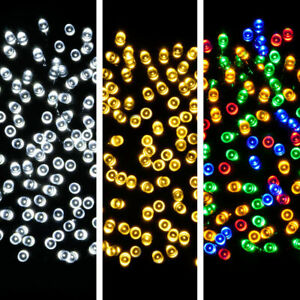 MULTI FUNCTIONAL BATTERY OPERATED LED FAIRY LIGHTS INDOOR OUTDOOR STRING TIMER