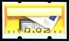 D 2008: FEHLDRUCK Automatenmarke 0,02 Euro, postfrisch