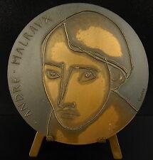 Médaille André Malraux  écrivain aventurier homme politique panthéon 1977 medal