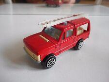 Majorette Range Rover Fire Brigade in Red