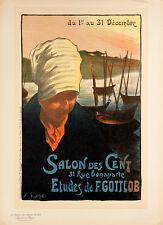 Les Maitres de l'Affiche pl.239 Salon Des Cent by Fernand Gottlo Original Poster