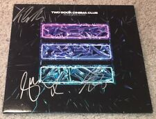 TWO DOOR CINEMA CLUB SIGNED AUTOGRAPH GAMESHOW VINYL RECORD ALBUM w/EXACT PROOF