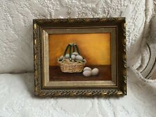 Miniature Oil On Board Painting By Melinda Albritton