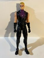 "Hasbro Marvel Avengers Titan Hero Hawkeye 12"" Series 2014 Purple"