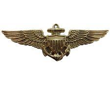 Denix Replik US-Navy Aviator Uniformabzeichen 1941 Metall Pilot Badge