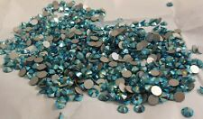 Full Pack Swarovski 2058 SS20 (4.8mm) BLUE ZIRCON  AB GLUE ON Crystals 1440 pcs