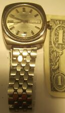 OLD Watch Leopard Super 17 Rubis Automatic Incabloc Calendar