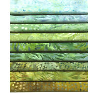 9 Multicolored Fat Quarter Bundle Kaufman Wilmington Fat Quarters, FQ9GR