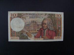 10  FRANCS  VOLTAIRE  1971   Q 681