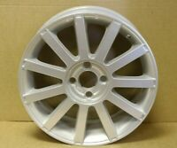 "GENUINE ORIGINAL OEM FORD FIESTA ST 17"" ALLOY WHEEL RIM SILVER 5S6Y-AA"