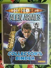 DOCTOR WHO Alien Armies - Panini Collector's Binder plus 150 cards Inc Foils