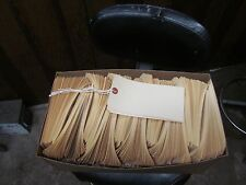 1000  #8 Manila Tags with strings 6 1/4 X 3 1/8