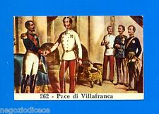 CENTENARIO UNITA D'ITALIA - Figurina-Sticker n. 262 - PACE DI VILLAFRANCA -Rec