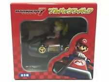 Super Mario Kart 7 Peach Pull Back figure Nintendo JAPAN Authentic rare NEW