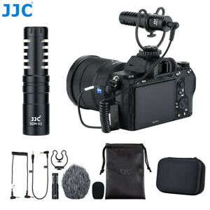 JJC Cardioid Microphone Vlog Video for Sony A6600 A6100 A6500 A6400 A6300 A7SIII