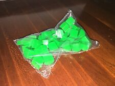 FACTORY SEALED Monopoly Replacement Pieces - 32 GREEN HOUSES, No. 0007 NEW!