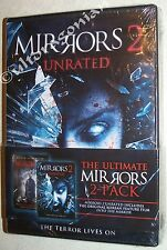 MIRRORS 1 & 2 - DVD 2-Pack UNRATED Kiefer Sutherland BRAND NEW