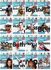 * OLYMPIC GAMES LONDON 2012 - FULL SET OF 16 x DAILY PROGRAMMES (DAY 1 to 16) *