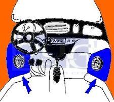 VW Cox/Coccinelle : Supports haut-parleurs - PAIRE - 19-490