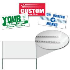 "Corrugated Plastic 4MM WHITE Sign Blanks-48""x24"" 50/BNL - Vertical Flutes"