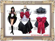 B6 Super Sailor Moon Cosplay Costume Mingou setsuna Sailor pluto