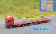 1:87 EM104 BAUSATZ Aufbau Traktortransporter Hängerzug für  Herpa Umbau Eigenbau