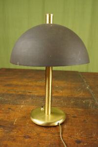 70er Table Desk Lamp Vintage Floor Lamp Retro Lamp Brass Mushroom Light 60er