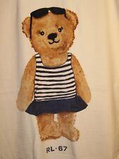 Polo Ralph Lauren LIMITED EDITION Polo Bear Beach Towel NWT Girl Bear