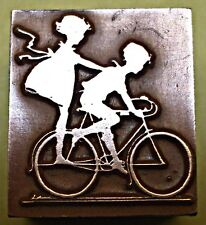 """Kids On Bike"" Cliché d'impression."