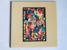 Festival TILE ~ New Orleans Jazz & Heritage Fest ~ RARE 1993 Music Mosaic