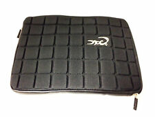 """Croco® 10.1"""" Super Chocolate Case Cover Carry Sleeve for 10.1"""" Tablets Black"""