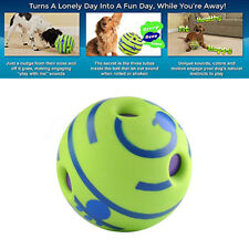 155mm Wobble Ball Dog Play Training Pet Toys Hot No Harm With   F @