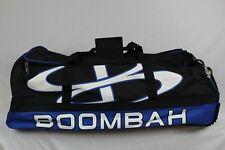 Boombah Brute Rolling Bag Pack Blue and Black Baseball